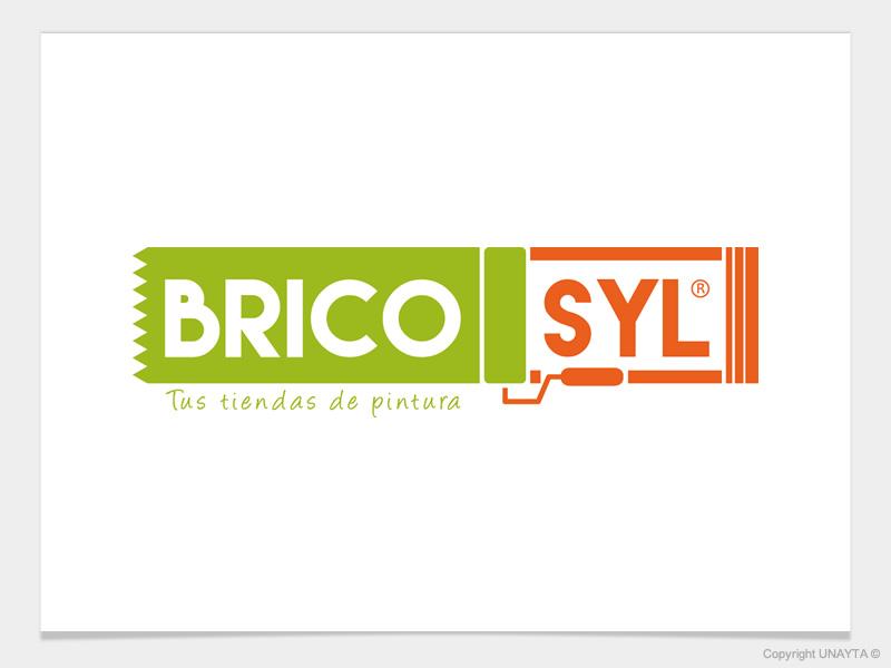 BRICOsyl identidad de marca, diseño de logotipo Unayta