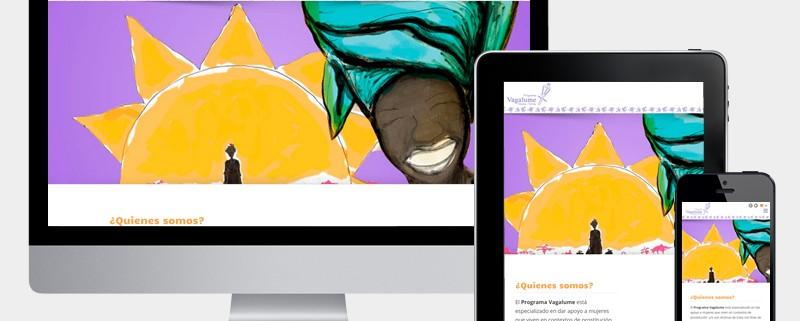 diseño web vagalume