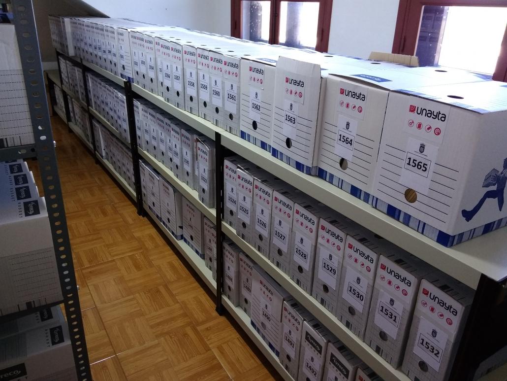 organización de arquivos municipais