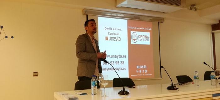 Unayta en el Cluster de sanidad de Galicia