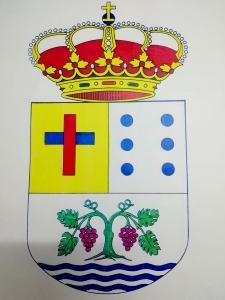 Bostezo del escudo de Vilamartín de Valdeorras